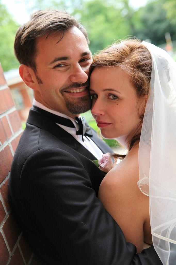 Brautstyling halblanges Haart