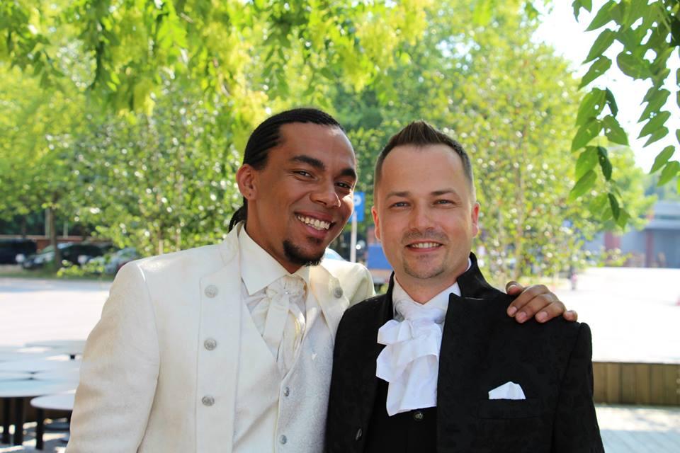 Hochzeitsmake-Up Männer