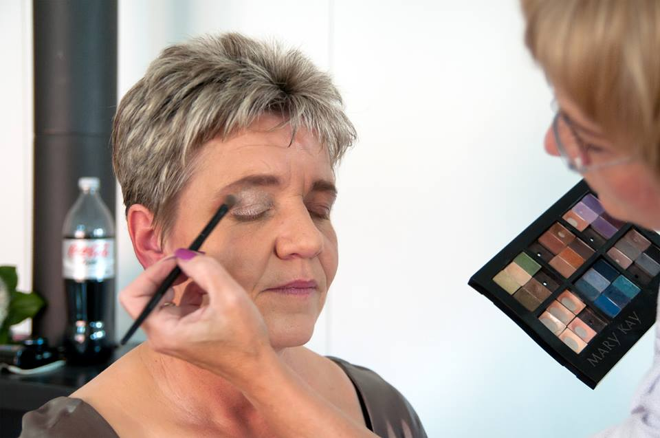 Make-Up reife Frauen