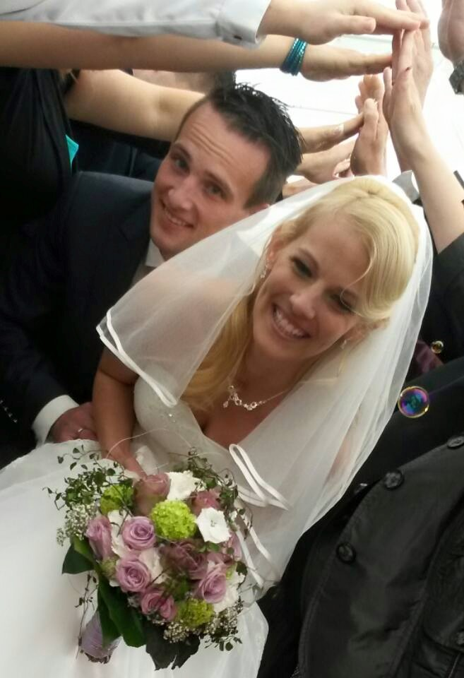 Brautfrisur halboffen