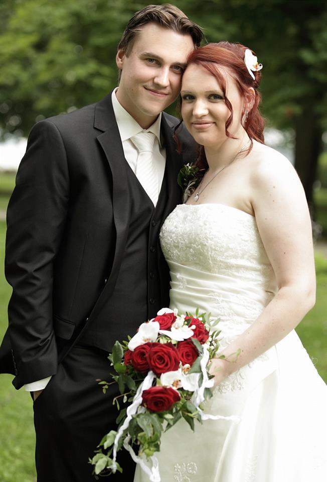 Brautfrisur rote Haare