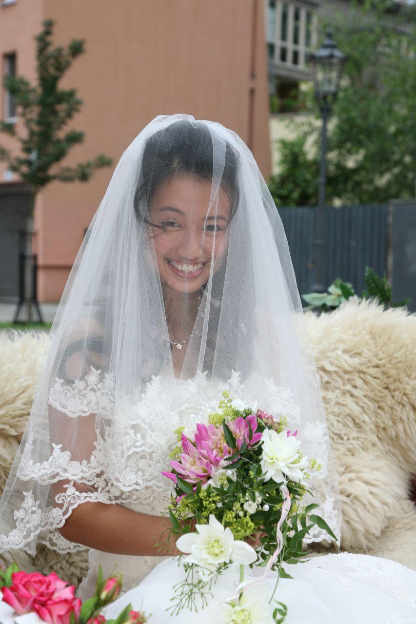 Hochzeit Asiatin
