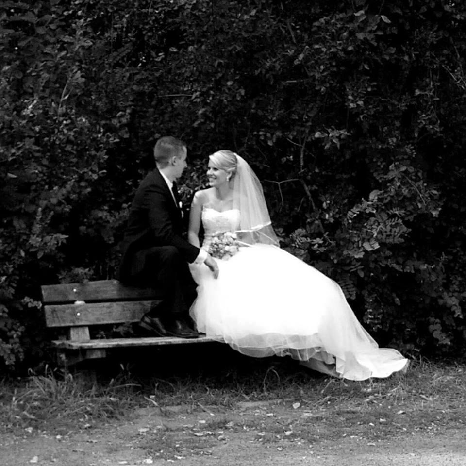 Romantische Brautfrisur